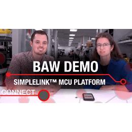 BAW (Bulk Acoustic Wave) Demo Simplelink MCU Platform