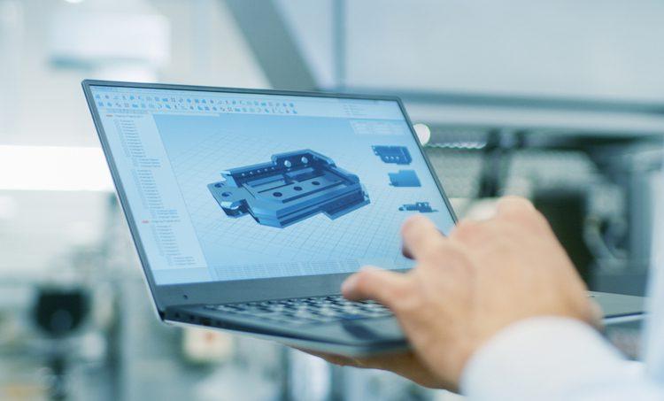 MCAD parts search service for enclosure design
