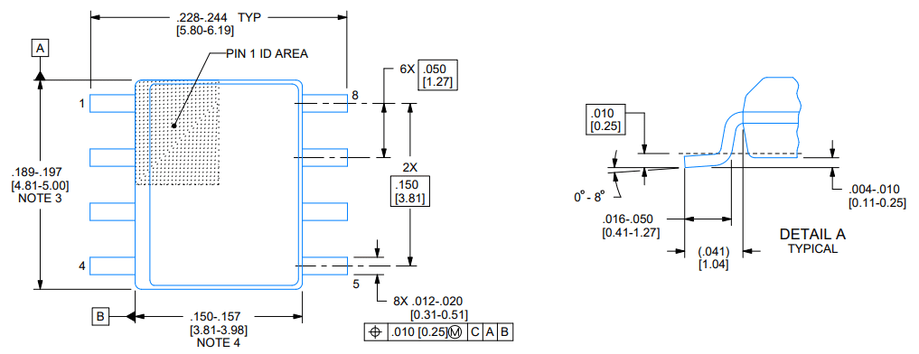SMD component datasheets for LM393BIDR from Texas Instruments
